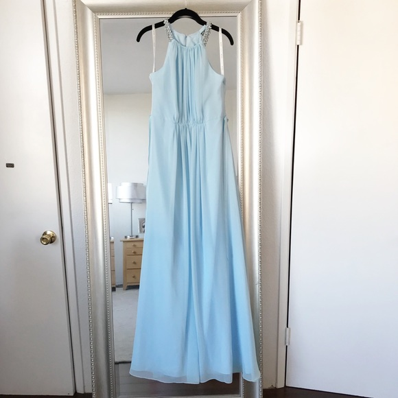 Wonder by Jenny Packham Dresses | Jenny Packham Sky Blue Bridesmaid ...